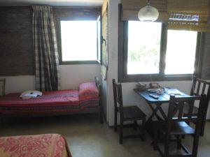 Interior-cama individual-monoambiente